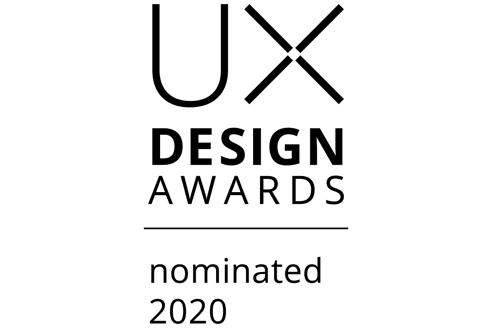 UX Design Award 2020 Nominee